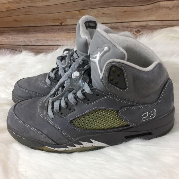 923799410 Jordan 5 Retro Wolf Grey Air Jordans 136027 005. M 5bfe29f2951996868d7e5ff2